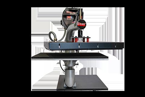Photo d'une machine pour le flocage textile - outils de conception graphique